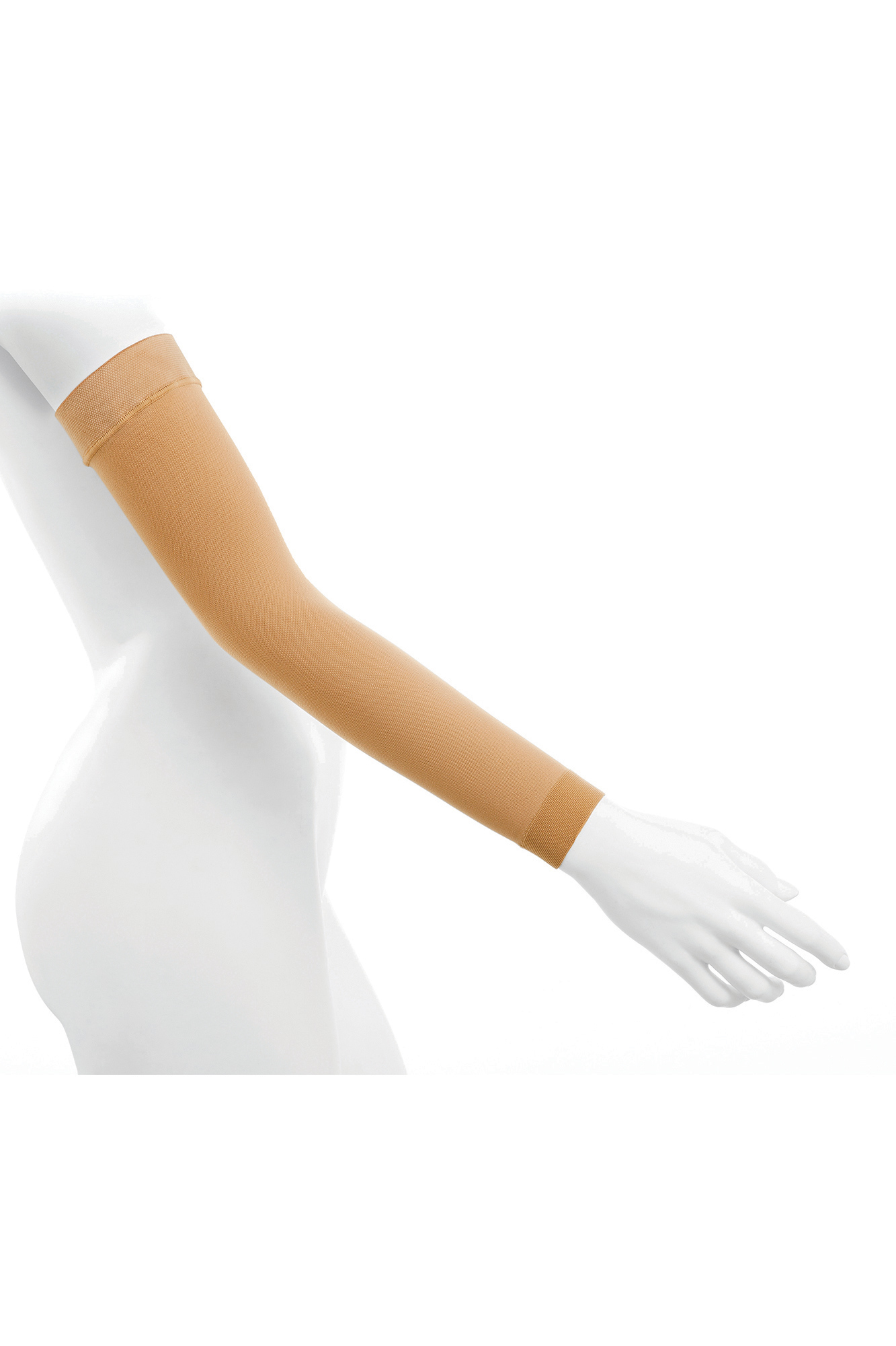 Acti Lymph Class 1 Arm Sleeve 18-21 mmHg Sand Extra Large Standard