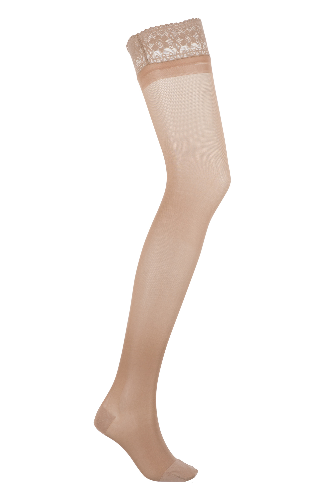 SCHOLL® Softgrip Ultima Class 1 Thigh Hold Up Support Stockings