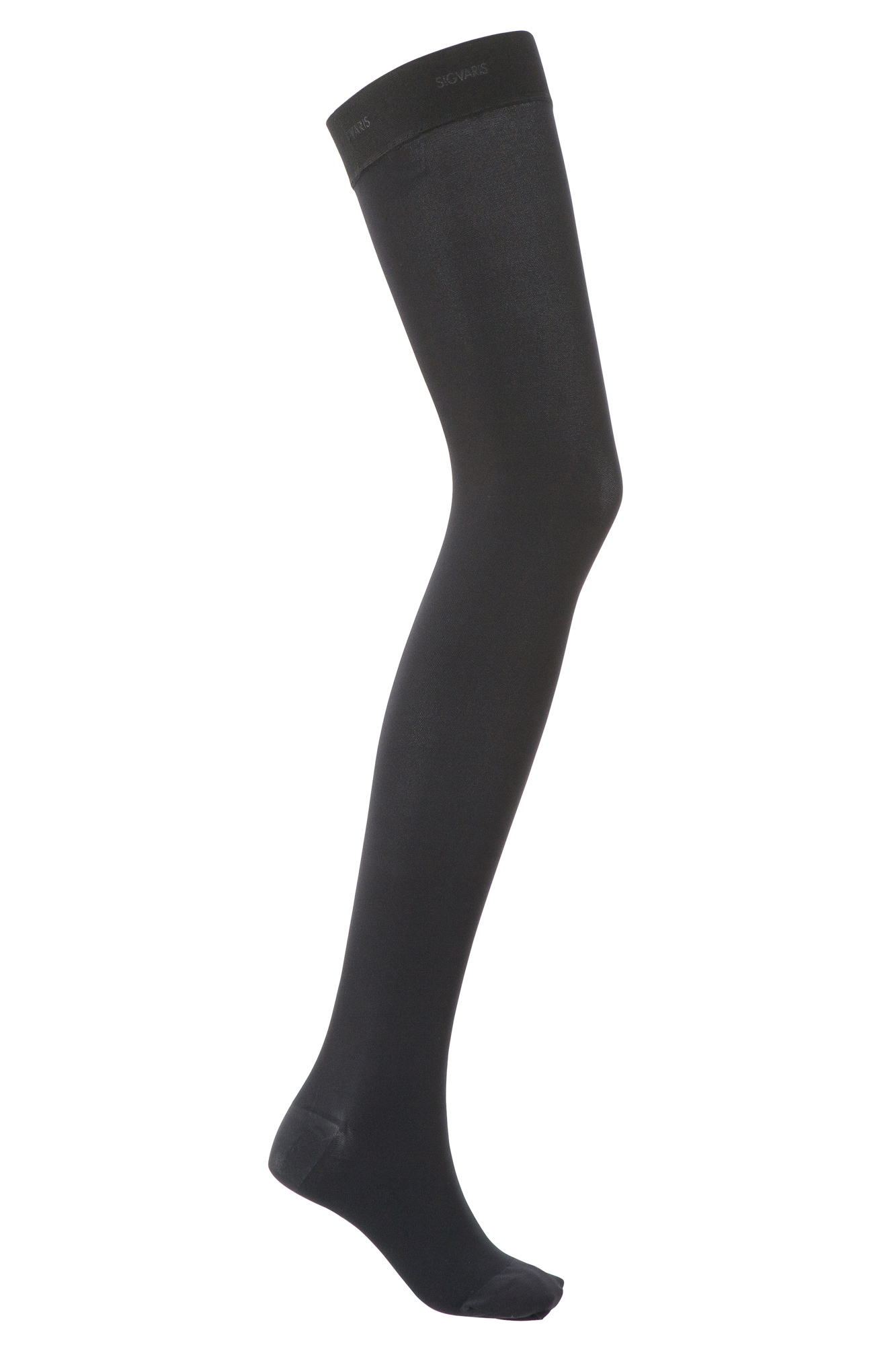 Sigvaris Comfort Class 1 Thigh Length Compression Stockings Savannah XS Regular Long Open Toe