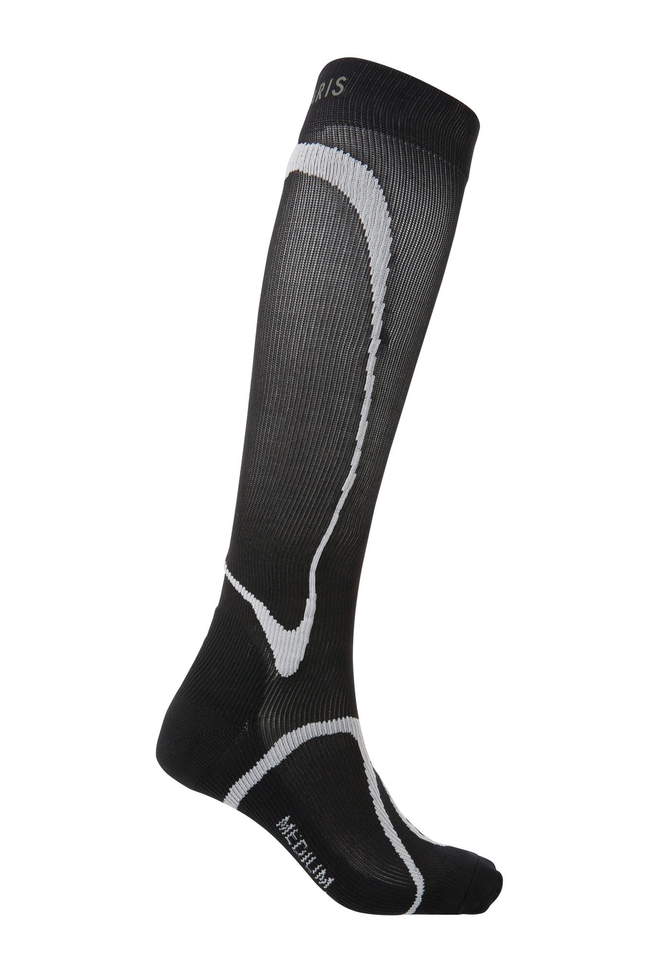 Sigvaris Performance Sports Running Compression Socks 20-30mmHg Black LGE 3 Closed Toe