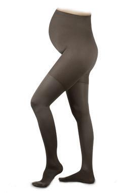 SupCare Maternity Support Tights 15-21mmHg Black L Closed Toe